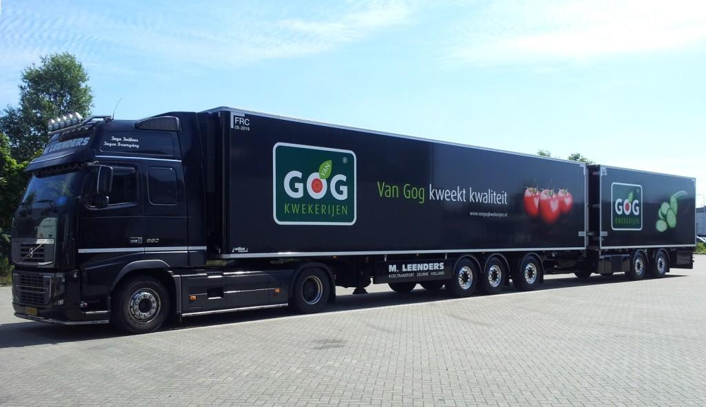 LZV black edition Leenders Transport