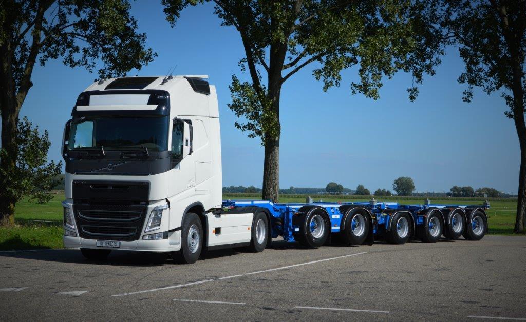 De Jong Introduceert Nieuw Concept Containerchassis Ttm Nl