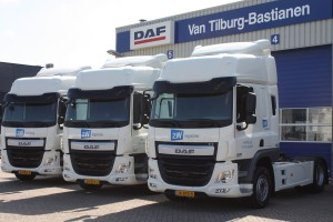 DAF vier maal 2W logistiek