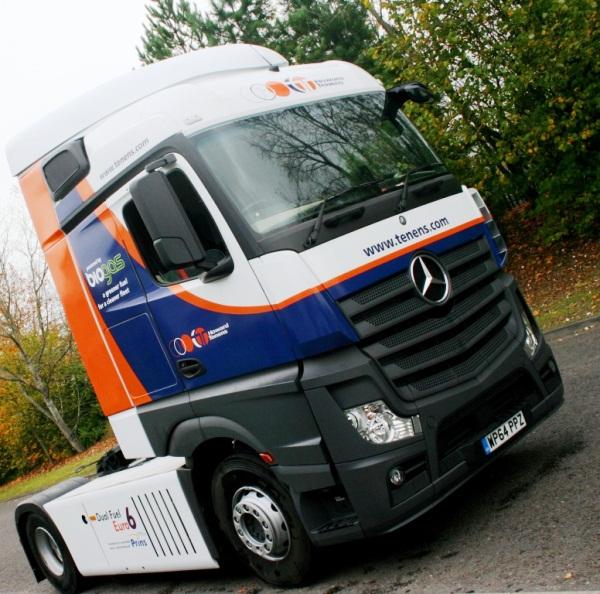 Actros Dual Fuel euro 6