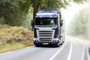 In de vroege ochtend al onderweg met de Scania G410 Euro 6