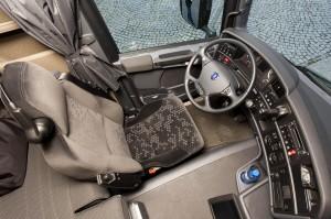 Menig chauffeur zou er meteen voor tekenen: de cabine van de Scania. De tand des tijds knaagt echter aan het concept.