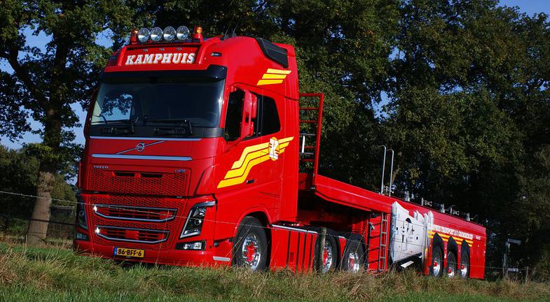 Volvo Fh16 750 Euro 6 Voor Kamphuis Transport Ttm Nl