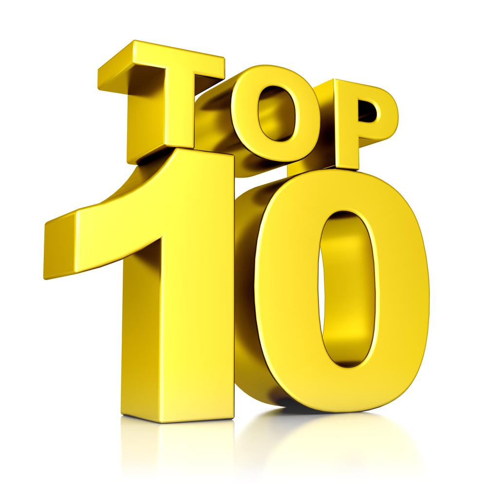 Afbeeldingsresultaat voor top 10