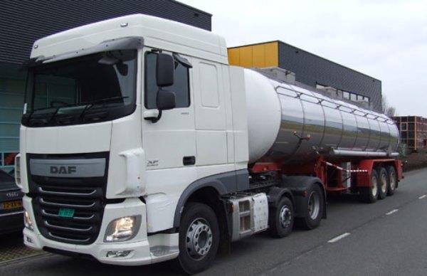 DAF XF Euro 6 dual fuel