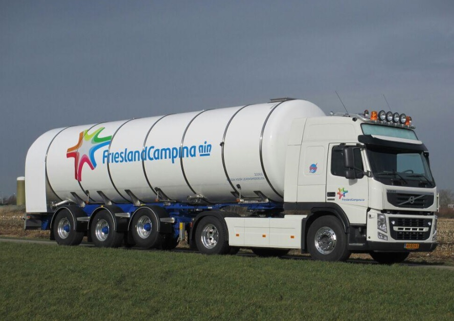 Campina on Lng Volvo Trucks
