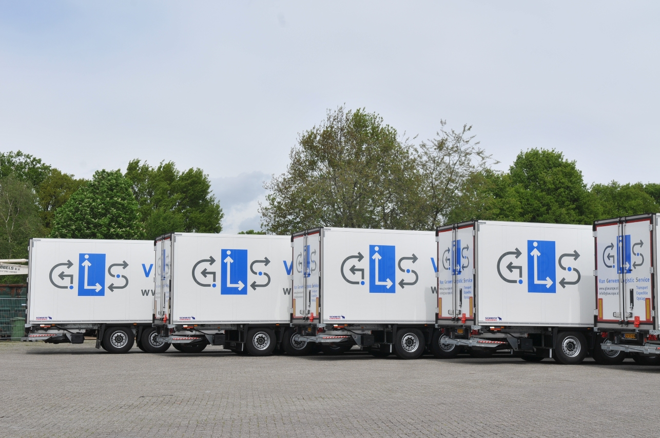 pharma koeltrailers voor gls logistics services. Black Bedroom Furniture Sets. Home Design Ideas