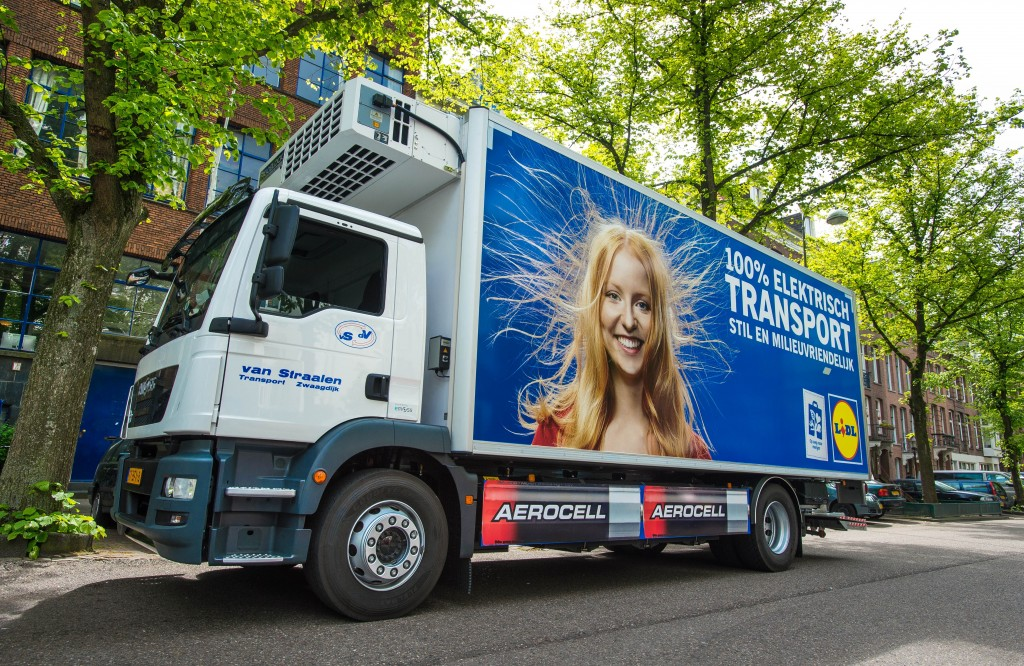 Lidl start pilot in Amsterdam met elektrisch transport