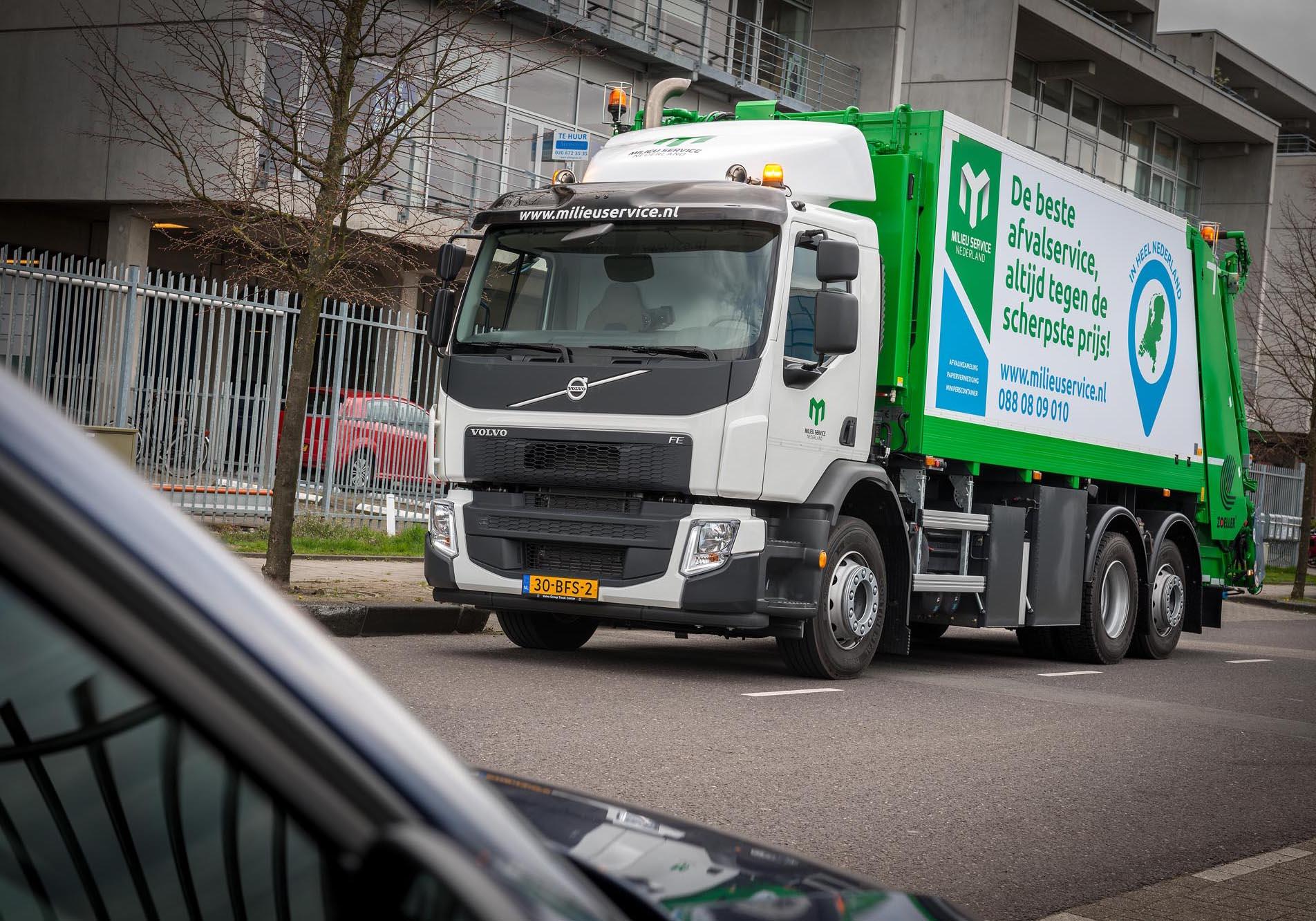 Volvo trio voor Milieu Service Nederland • TTM.nl