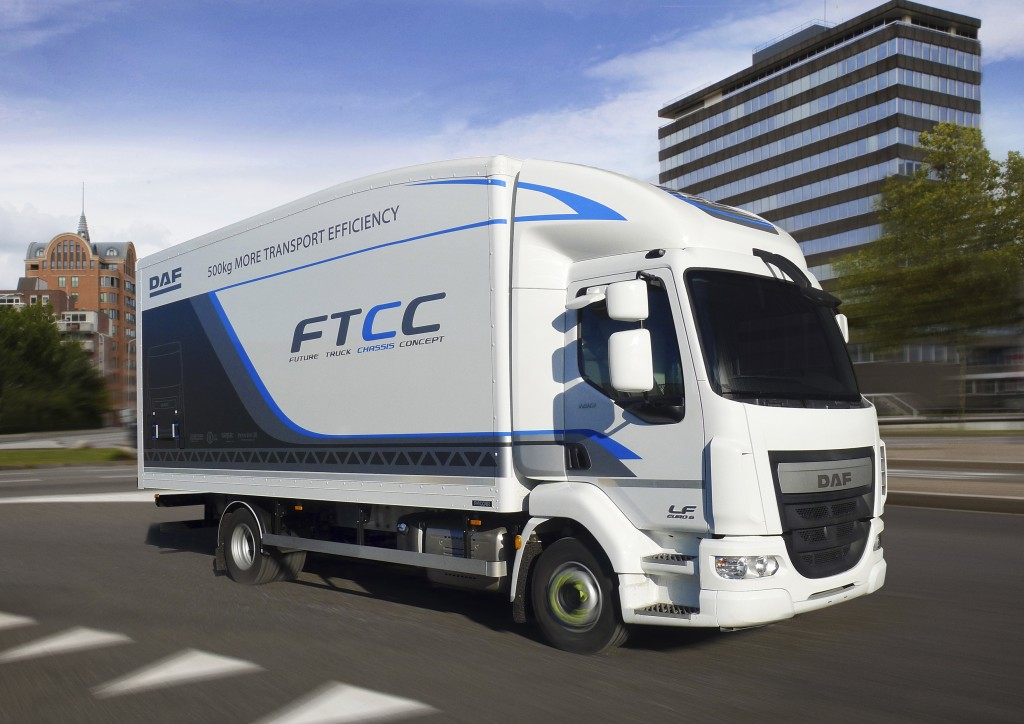 DAF Future Truck Chassis Concept