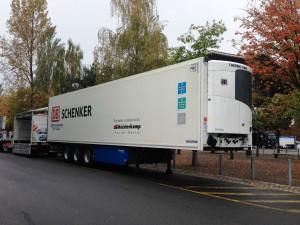 Onlangs nog speelde Thermo King Transportkoeling, via Heisterkamp, in op de vraag van DB Schenker Logistics of een trailer voor farmatransport gecertificeerd kon worden.