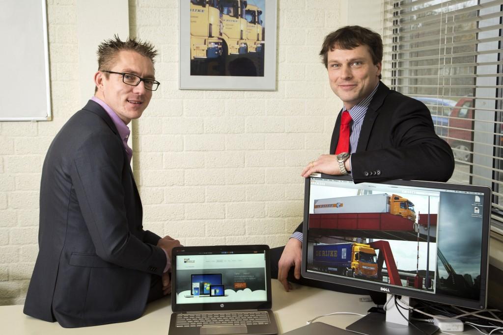 """""""Nu hardware en ICT-beheer zijn uitbesteed, richt onze IT-afdeling zich op applicaties die de service verhogen"""", zeggen Jorrit Roskam (links) en Mark van Veen."""