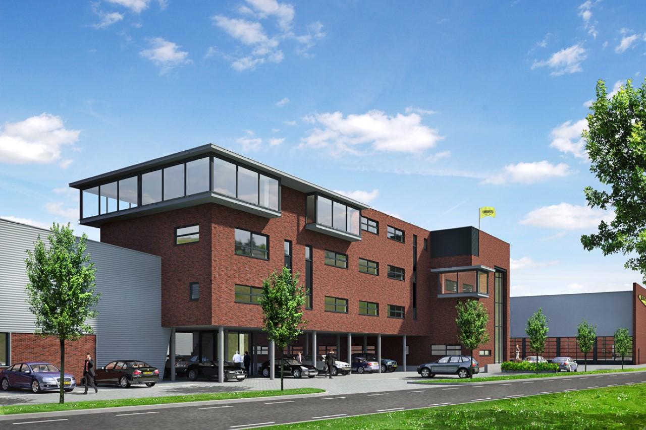 Broshuis bouwt nieuwe fabriek - Kantoor lijnen ...