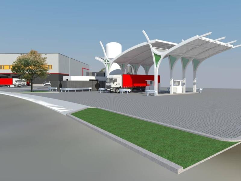 Lng tankstation voor trucks in heteren for Kruidvat gorinchem
