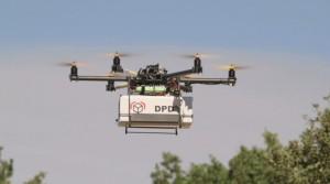 DPD drone met pakket