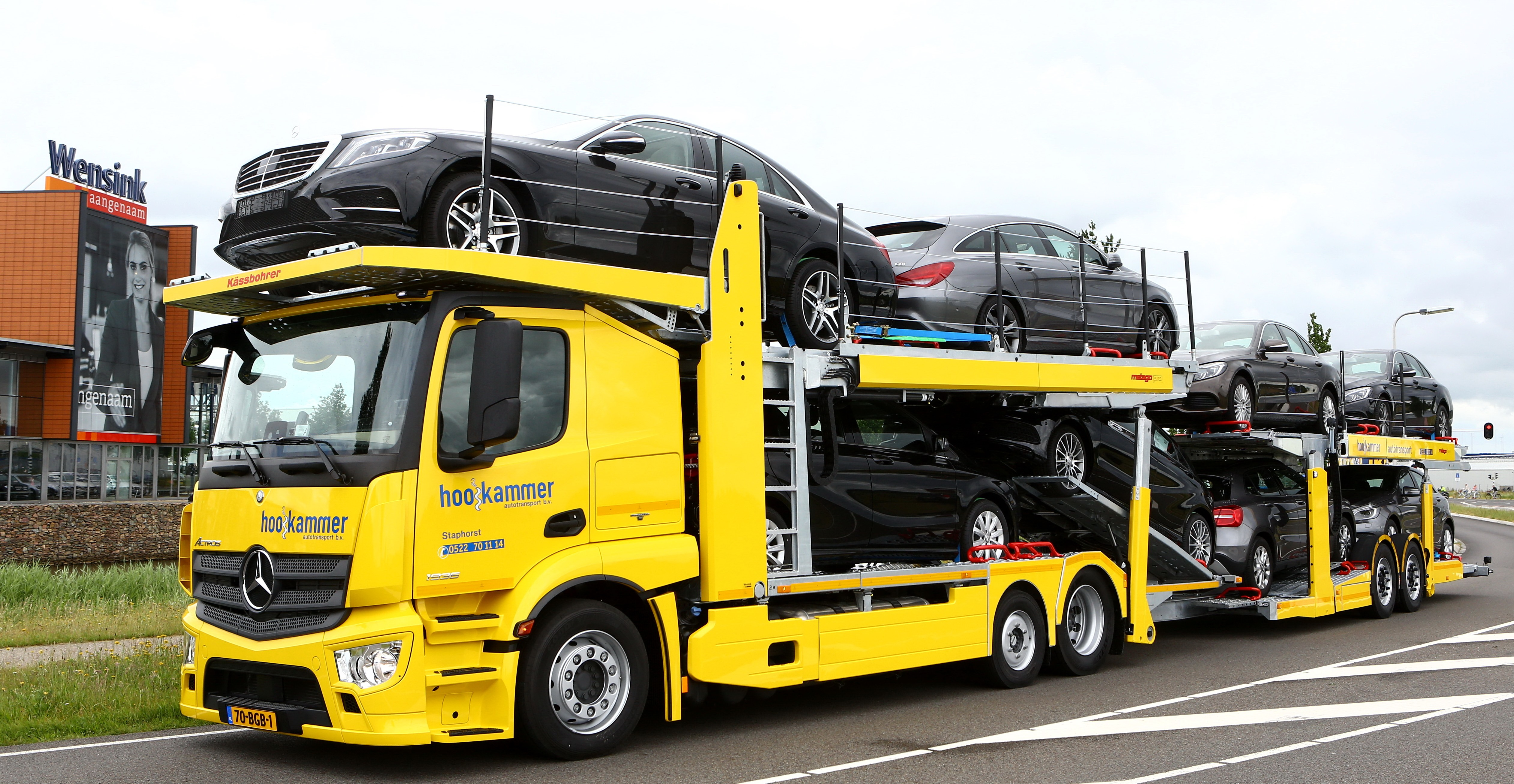 Actros autotransporter voor Hooikammer • TTM.nl