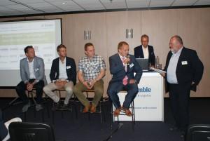 Tijdens de paneldiscussie op het ITT-event ging Walther Ploos van Amstel met vervoerders in op de kwaliteit en het rendement van de planning.