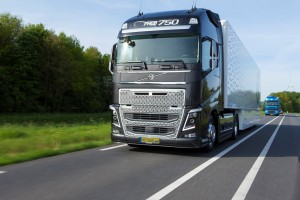 Imposant en krachtig, de Volvo FH16-750