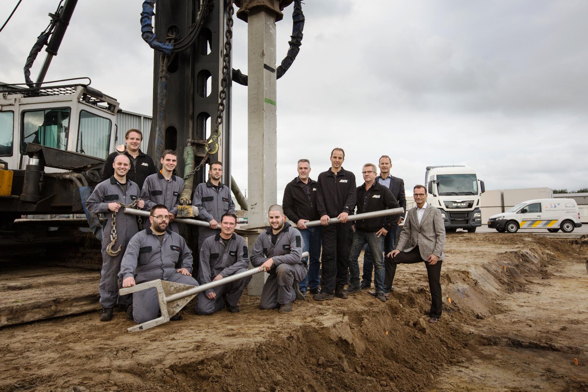 Auto Garage Beverwijk : Bts beverwijk bouwt nieuwe man garage u ttm