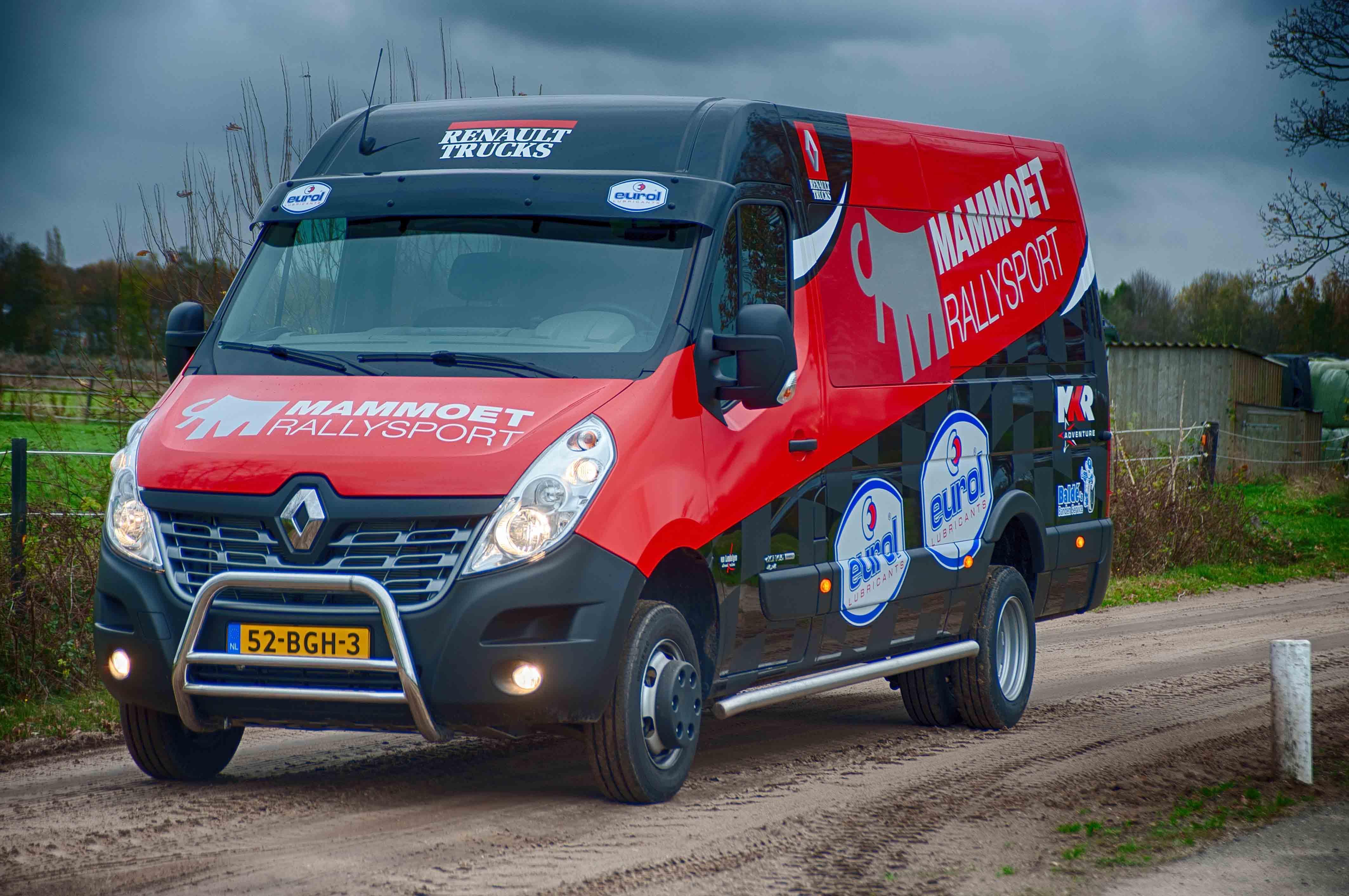 Renault Master 4x4 voor Mammoet Rallysport • TTM.nl