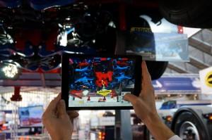 'Augmented reality' bij Broshuis laat zien dat dat merk haar marketing en promotie prima voor elkaar heeft.
