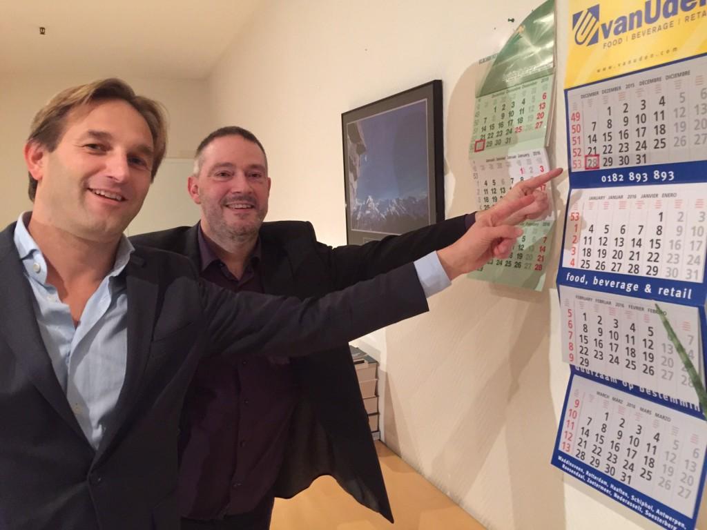 Frank van Steijvoort en Roderick de la Houssaye