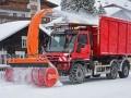 Modified Unimog U 530, Application in Lech am Arlberg