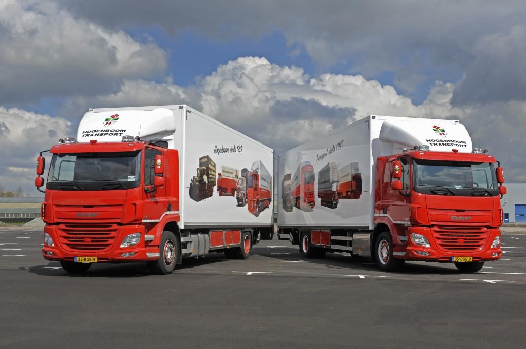 DAF Trucks van de Fa. Hogenboom archiefnummer 160637