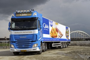 DD 11-04-2016 Hedel DAF truck van Quiks Fresh Potatoes archiefnummer : 160635