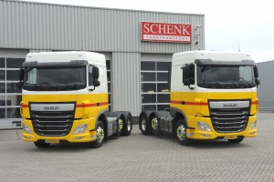 DD 29-04-2016 Papendrecht DAF trucks voor Schenker Archiefnummer 160827