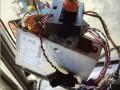 Tachograaf met manipulatie-box erachter