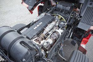 Krachtig en ook nog eens zuinig. De D38 (560 pk!) presteert goed.