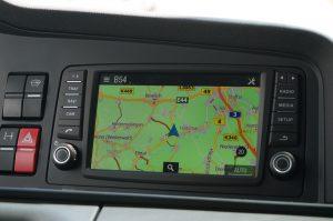 Nieuw is dit scherm voor het MAN Media Truck systeem, met navigatie.