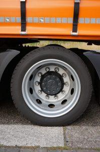 Goodyear ontwikkelde voor de DAF XF Low Deck speciale banden.