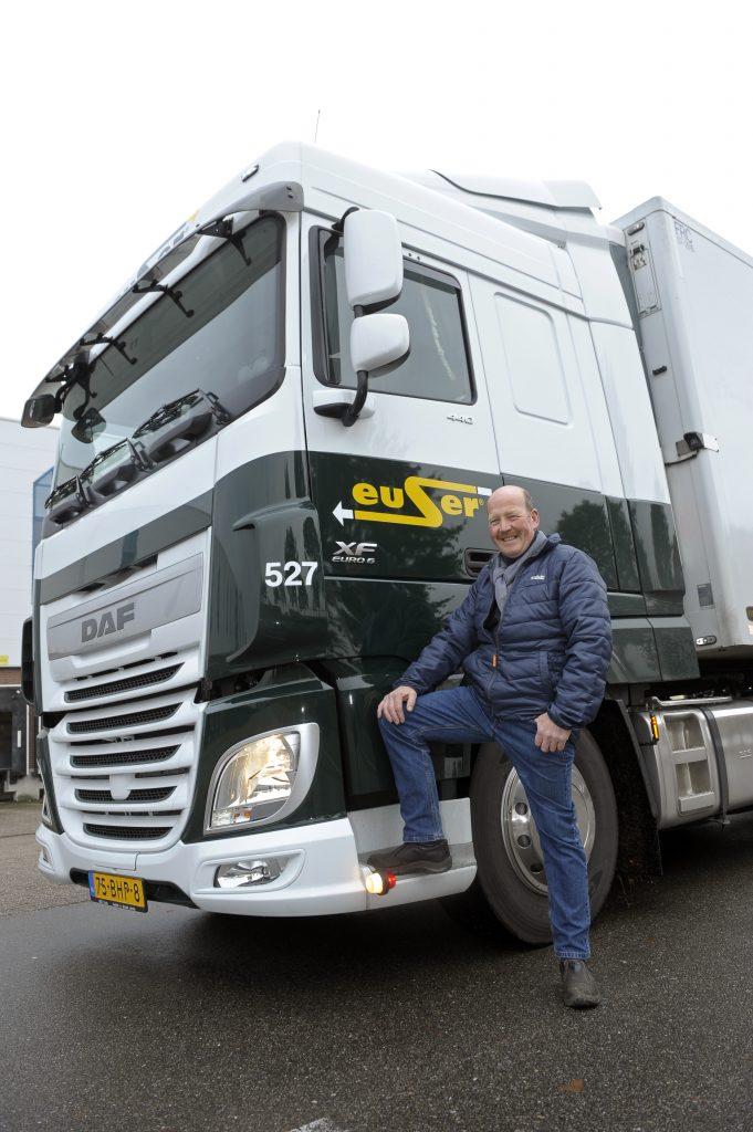 Euser X on Lng Volvo Trucks