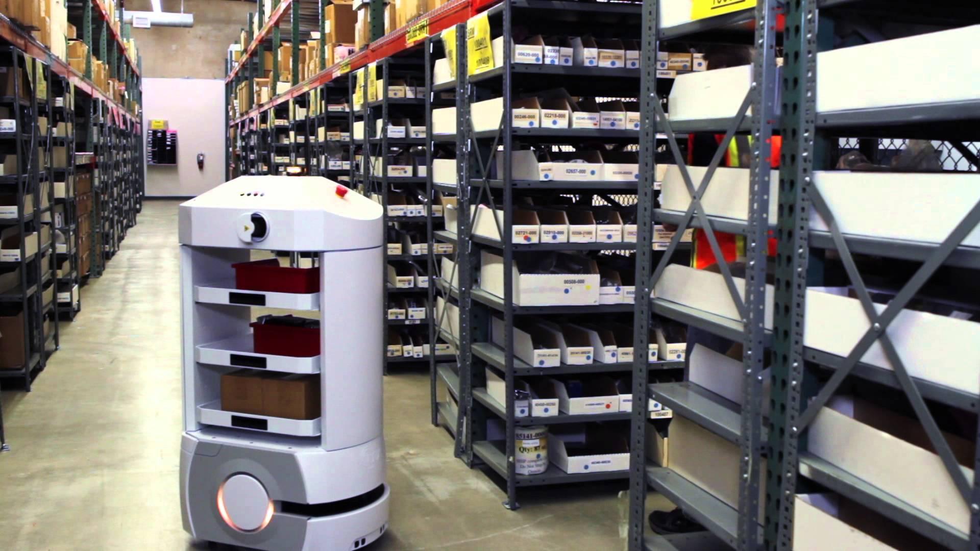 Mercedes Benz Van >> Omron: robots in het warehouse • TTM.nl