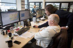 De afgelegde routes volgen uit het tracking- en tracingsysteem dat nauwgezet de positie van alle opleggers volgt.