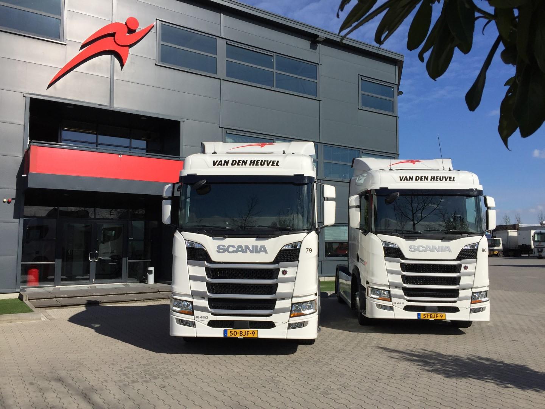 Nieuwe Scania Als Lzv Bij Van Den Heuvel Ttm Nl
