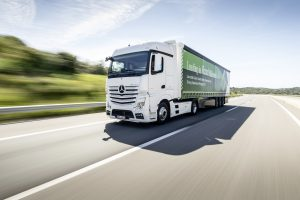 Mercedes-Benz Actros updated driveline