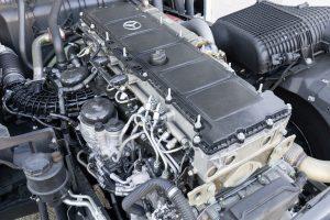 Ook bij de nieuwe OM471 draait het om minder toeren en dus minder diesel.