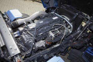 De Cursor 9, een speciale gasmotor, is technisch minder ingewikkeld dan moderne diesels.
