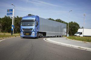 De Stralis NP bewijst zich nu al op distributrieritten in Nederland.