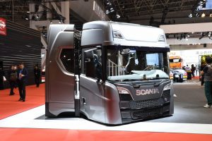 Scania S split cab