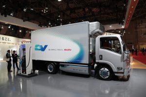 Isuzu ELF elektrische truck