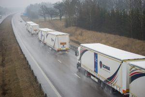 Ook Scania test met