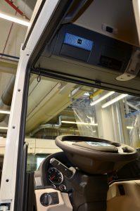 MAN heeft zijn connectivity geregeld via RIO. Scania doet dat met eigen software dat Scania Fleet Management System heet. Beide systemen zijn niet uitwisselbaar