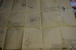 Bijzonder zijn de bouwtekeningen van de DAF A30.
