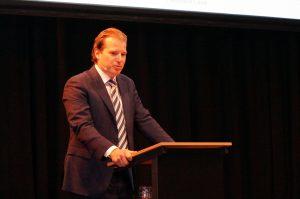 Willem van der Leegte van VDL: 'Dit is een prachtige samenwerking tussen twee Eindhovense bedrijven.'