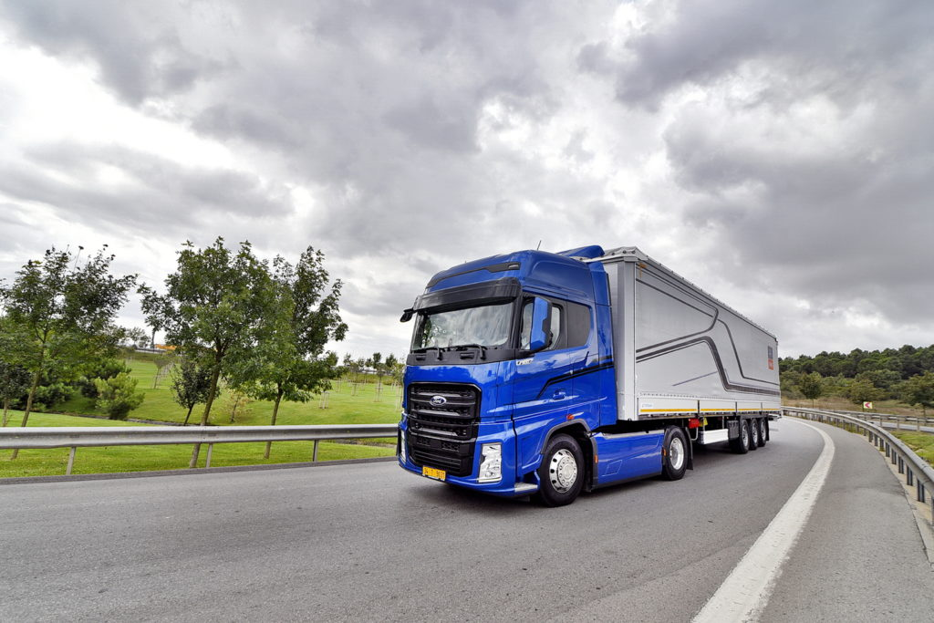 De F Max Nieuwe Lange Afstandstruck Van Ford Trucks Is Verkozen Tot International Truck Of The Year 2019 Award Werd Woensdag Door
