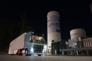 Begin- en eindpunt van deze test: het Rolande LNG-tankpunt in Westervoort.